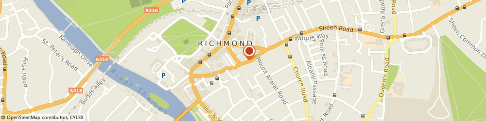 Route/map/directions to MZI Ltd, TW9 1SE Richmond, 34 Paradise Rd