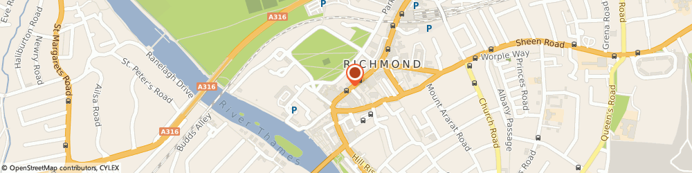 Route/map/directions to Reiss, TW9 1HE Richmond, 71 George Street