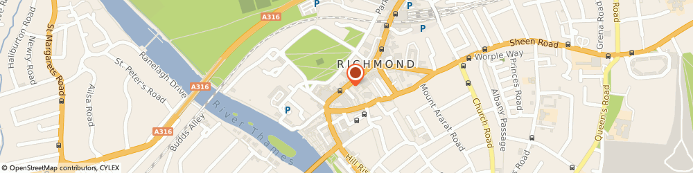 Route/map/directions to Reed Employment Services, TW9 1HY Richmond, 21, GEORGE STREET