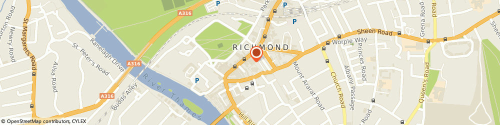 Route/map/directions to Wan, TW9 1JL Richmond, 1a Church Court