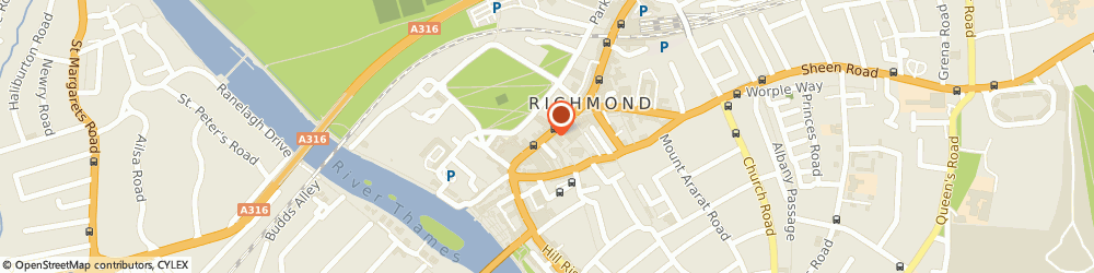 Route/map/directions to Type 3, TW9 1HE Richmond, 83-84 THIRD FLOOR, GEORGE STREET