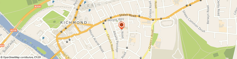 Route/map/directions to Mutute Ltd, TW10 6DS Richmond, 7 LORNE ROAD