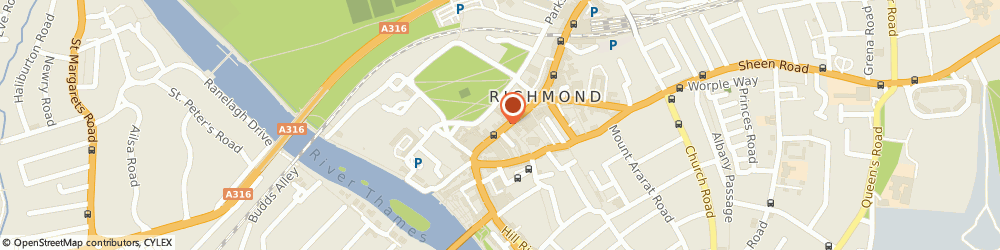 Route/map/directions to Boots Richmond George Street, TW9 1HF Richmond, 60-64 George St