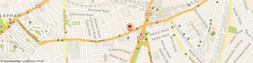 Route/map/directions to Brixton Locksmiths, SW2 5UA London, 36-38, Acre Lane