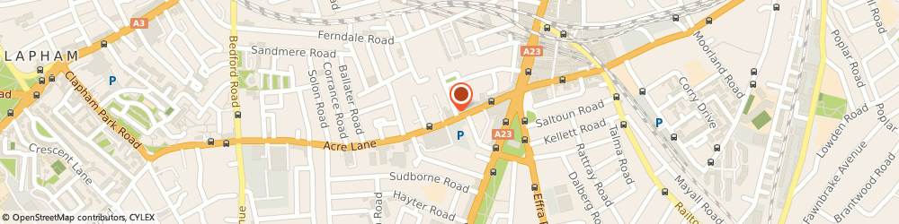 Route/map/directions to British Heart Foundation Furniture & Electrical, SW2 5SP London, 36 Acre Lane