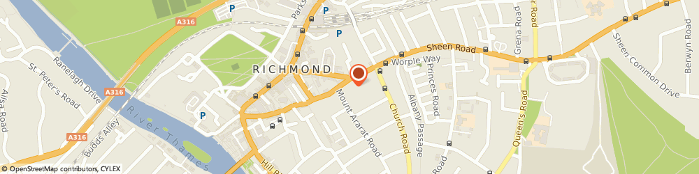 Route/map/directions to HSA Dermal Clinic, TW9 1RX Richmond, 3 Paradise Rd
