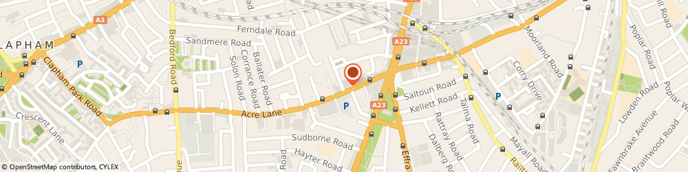 Route/map/directions to Trades Academy UK Ltd, SW2 5SG London, 34 Acre Lane