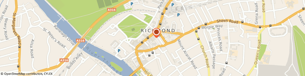 Route/map/directions to COSTA COFFEE, TW9 1HY Richmond, 29 George Street
