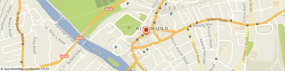 Route/map/directions to Barclays Bank, TW9 1JU Richmond, 8 George Street
