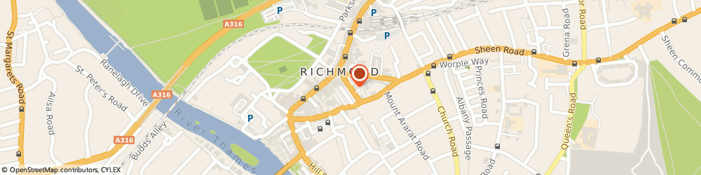 Route/map/directions to GRIFFON LAND HOLDINGS LIMITED, TW9 1EG Richmond, 1 Towers Place Eton St