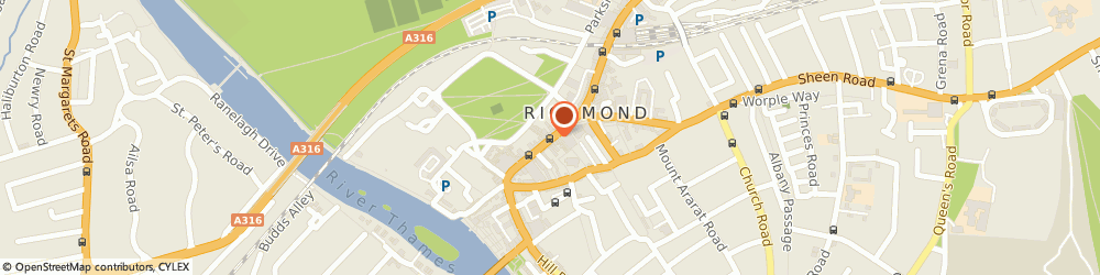 Route/map/directions to Reed Accountancy Personnel, TW9 1HY Richmond, 56 GEORGE STREET