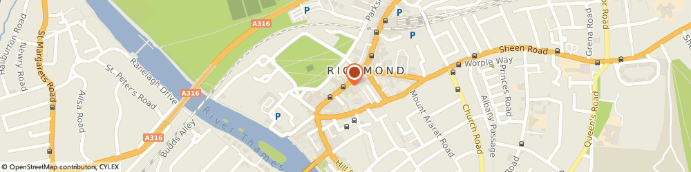 Route/map/directions to Richmond upon Thames Removals Ltd., TW9 1HY Richmond, 24 George Street