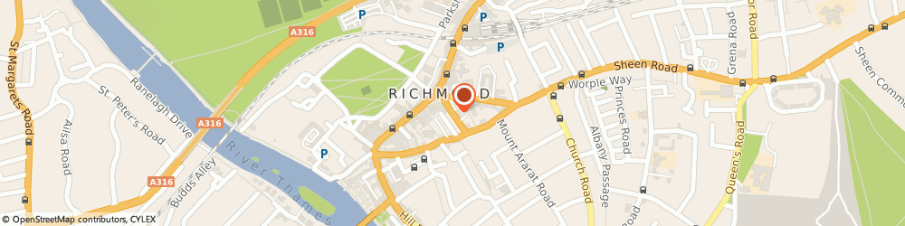 Route/map/directions to Boudicca Flowers Ltd, TW9 1EE Richmond, 12C ETON ST
