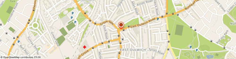 Route/map/directions to Just Williams London East Dulwich, SE22 8DR London, 106 Grove Vale