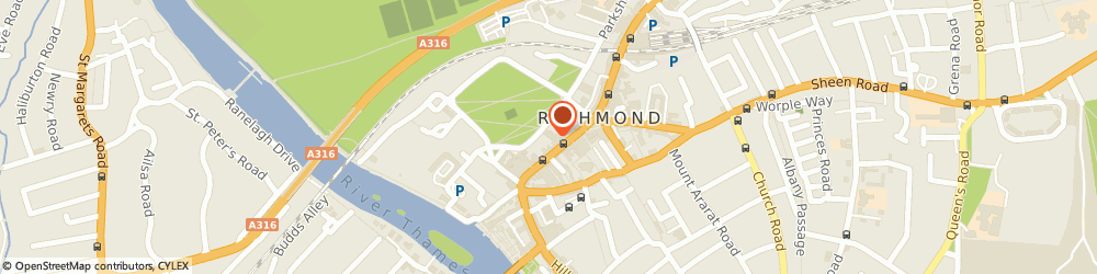 Route/map/directions to The Britannia, TW9 1HH Richmond, 5 Brewers Lane