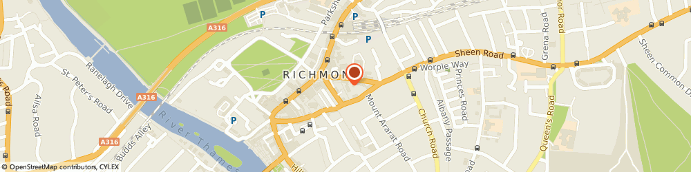 Route/map/directions to DIGME FITNESS LIMITED, TW9 1BN Richmond, Spencer House, 23 Sheen Road