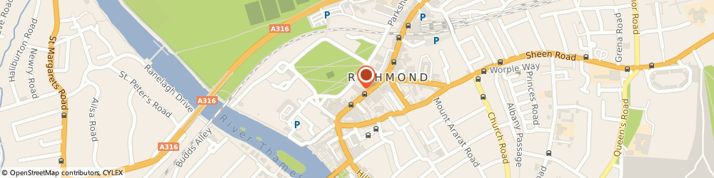 Route/map/directions to Kate Hopwood Jewellery, TW9 1HH Richmond, 11 Brewers Lane