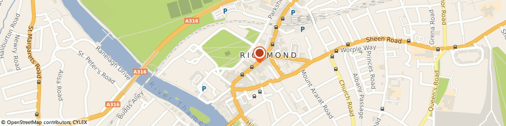 Route/map/directions to Your Body Active, TW9 1HJ Richmond, 51A GEORGE STREET