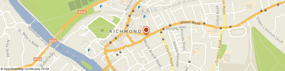 Route/map/directions to John D Wood & Co Estate Agents Richmond, TW9 1AD Richmond, 31 Sheen Road