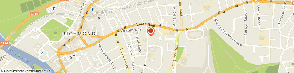 Route/map/directions to Stagecoach Performing Arts Schools Richmond, TW10 6ES Richmond, 68 King's Road
