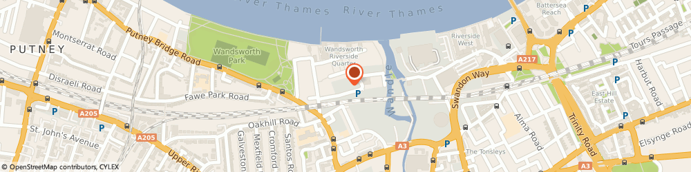 Route/map/directions to Britannia Row Productions Ltd, SW18 1NL London, 9 OSIERS RD