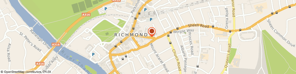 Route/map/directions to Jackson–Stops - Richmond, TW9 1AS Richmond, Sheen Rd