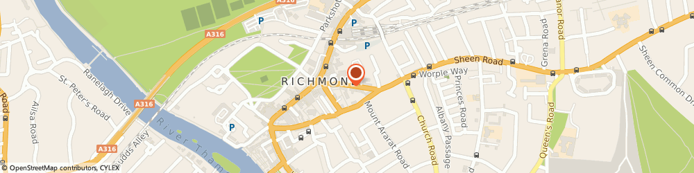 Route/map/directions to Red Door Communications, TW9 1BN Richmond, SOUTH WING, SPENCER HOUSE, 23 SHEEN ROAD