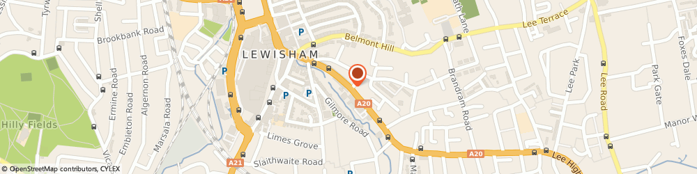 Route/map/directions to Barclays Bank, SE13 6BB London, 93 Lewisham High Street