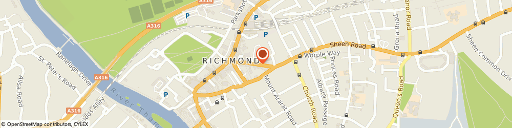 Route/map/directions to Cara Shoes, TW9 1AD Richmond, 7 SHEEN ROAD