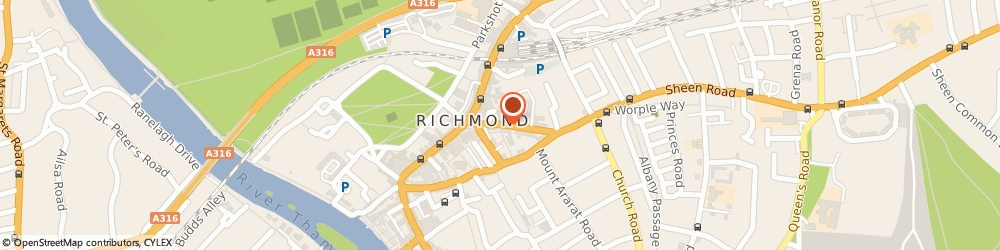 Route/map/directions to Donovan Marrison Limited, TW9 1AD Richmond, 19 Sheen Road