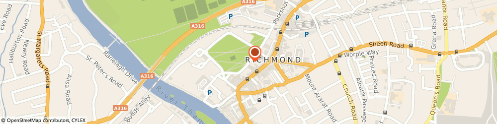 Route/map/directions to Camomille Associates Ltd, TW9 1PX Richmond, 11 THE GREEN