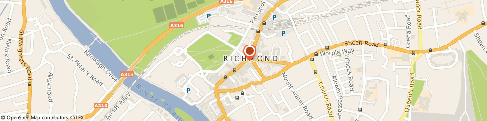 Route/map/directions to Trailfinders, TW9 1HJ Richmond, 43 George St