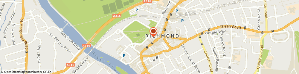 Route/map/directions to RISKBASE CONSULTANCY LIMITED, TW9 1PL Richmond, 8 The Green