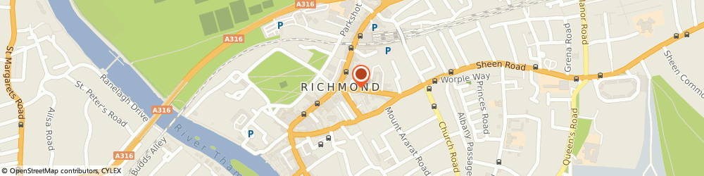 Route/map/directions to Adi Plumbers in Richmond, TW9 1AE Richmond, OFFICE 6, 2 SHEEN ROAD
