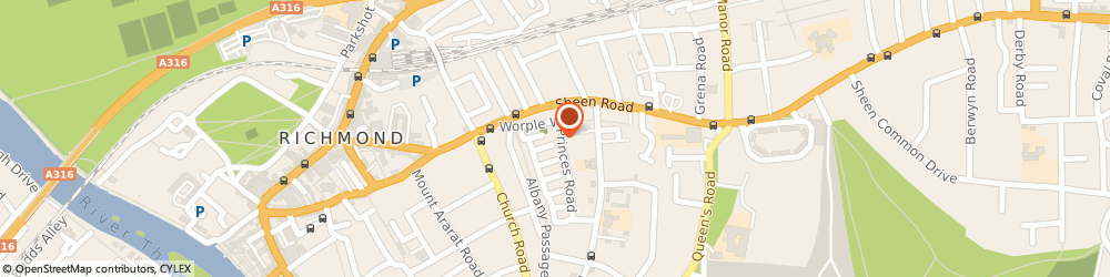 Route/map/directions to Clear Partners, TW10 6DQ Richmond, Alexander Place, 13-17 Princes Rd, Brooks House