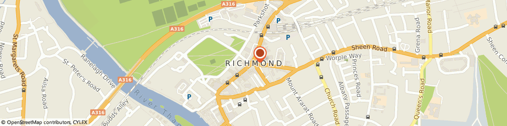 Route/map/directions to Dunkan Builders Richmond, TW9 1HJ Richmond, Richmond