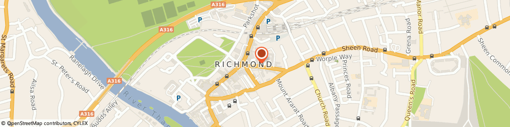 Route/map/directions to Wallis Plumbing, TW9 1AE Richmond, Gainsborough House