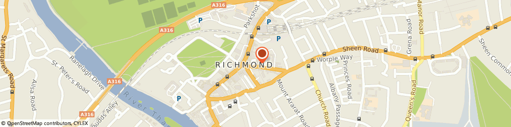 Route/map/directions to Leap Recruit, TW9 1AE Richmond, 2 Sheen Rd