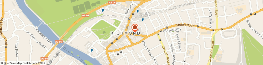 Route/map/directions to Permafix, TW9 1AE Richmond, 2, Sheen Road, Richmond