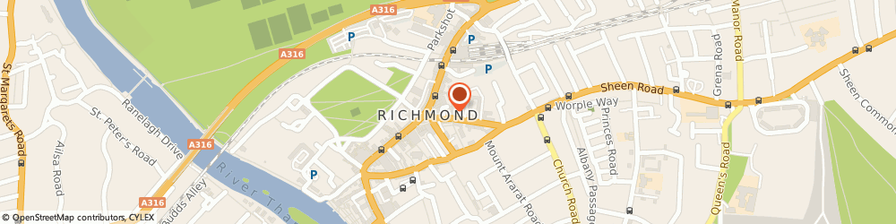 Route/map/directions to Keytek Locksmiths Richmond, TW9 1AE Richmond, Gainsborough House, 2 Sheen Road