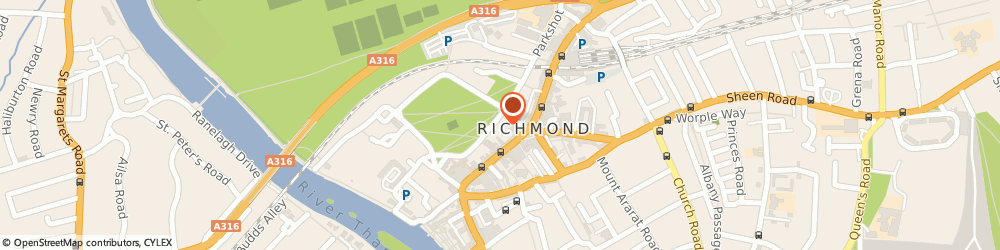 Route/map/directions to Uk Uniform Limited Richmond, TW9 1PL Richmond, 1 THE GREEN
