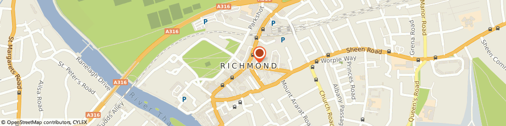 Route/map/directions to Buenos Aires Argentine Steakhouse - Richmond, TW9 1EA Richmond, 13-19 The Square