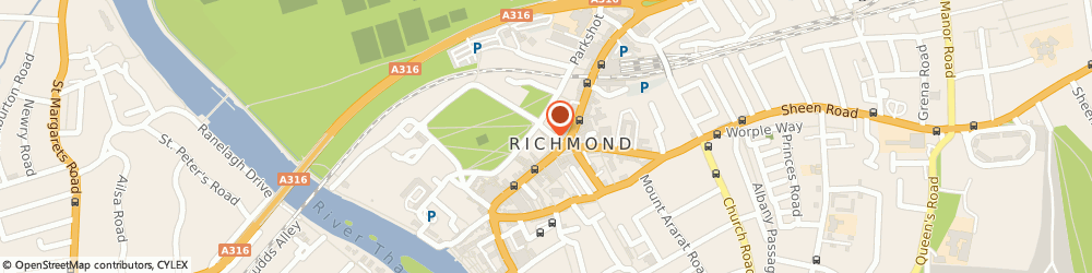 Route/map/directions to The Lot, TW9 1HP Richmond, 1A DUKE STREET