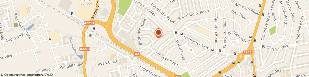 Route/map/directions to Paul McGrath Heating Services, SE3 9QJ London, 70 Ridgebrook Rd