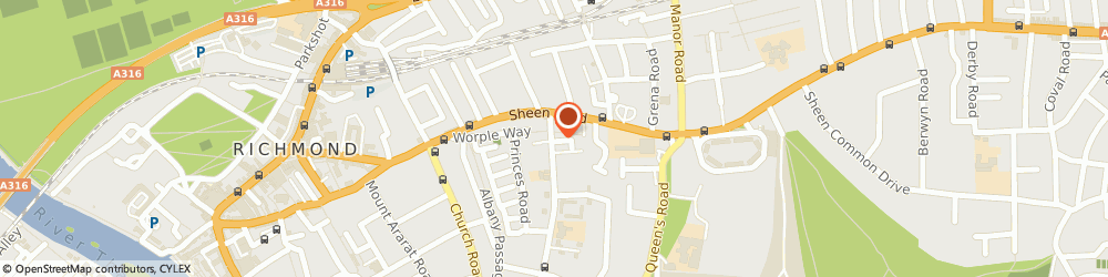 Route/map/directions to ARIASOFT LTD, TW10 6EE Richmond, F 12 Alexander Laroche Court, 100 Kings Road