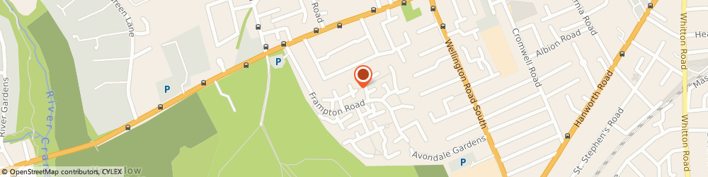 Route/map/directions to van with man london, TW4 5BT Hounslow, 5 LINSLADE CLOSE