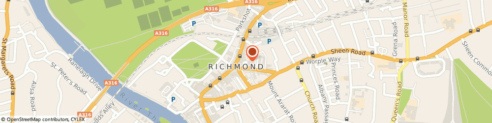 Route/map/directions to suk jai thai massage, TW9 1EB Richmond, 1C;Waterloo Place