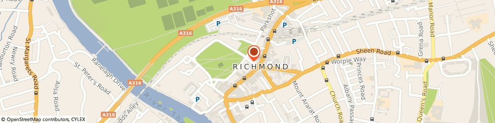 Route/map/directions to Massage in Richmond, TW9 1HP Richmond, 6 Duke Street