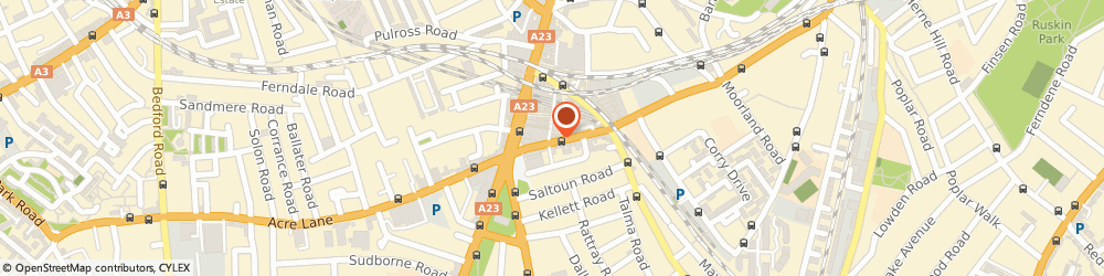 Route/map/directions to CLEAR VISION BRIXTON LTD, SW9 8LF London, 428/430 Cold Harbour Lane