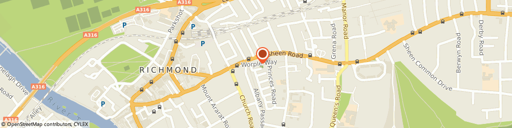 Route/map/directions to The Victoria Foundation, TW10 6DG Richmond, St David's House, 15 Worple Way